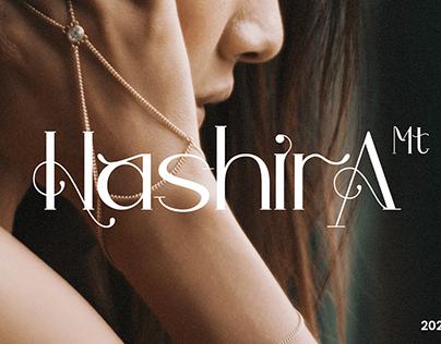 Hashira Mt - Free Luxury Serif Font