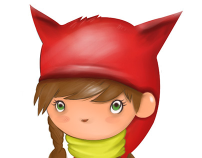 Red Riding Hood, character design