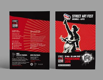 Programme Street art fest 2019