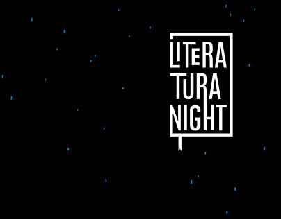 Poster for Literatura night