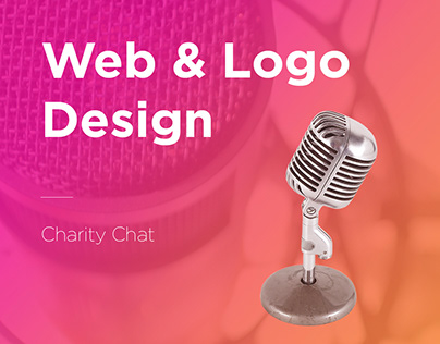 Charity Chat website design