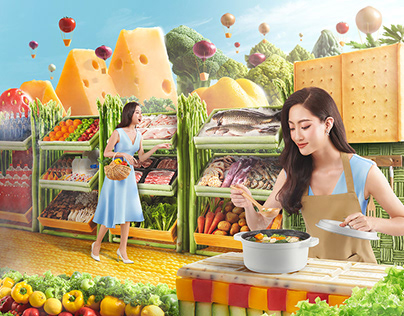 Casper Fridge Open The Food World