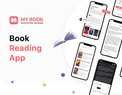 My Book - Reading App UI/UX