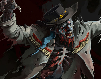 The Quick and the Undead // boardgame