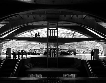 Olhar sobre a Gare do Oriente   André Vieira