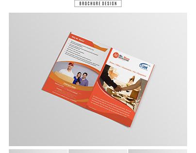 Mr. Move brochure design