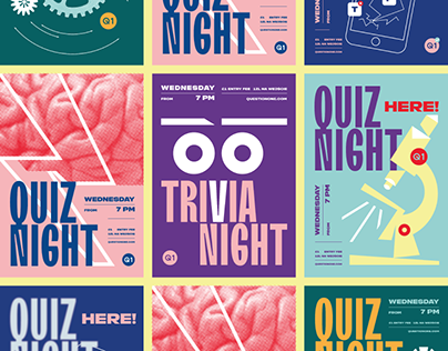 Quiz Night | Poster Collection
