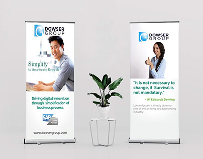 Pull Up Banner :: Dowser Group