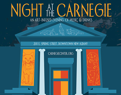 Night At The Carnegie Poster