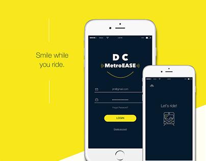 DC MetroEase Mobile App