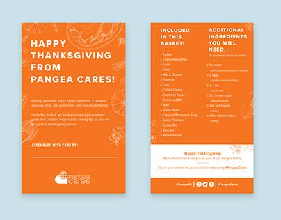 Pangea Cares Thanksgiving Basket Giveaway
