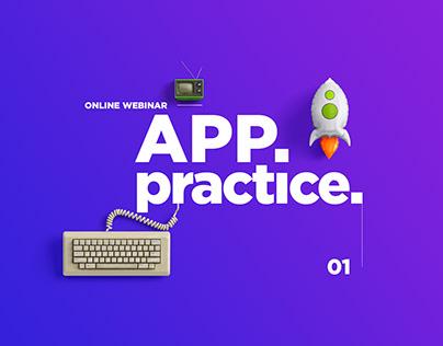 App practice. Online webinar