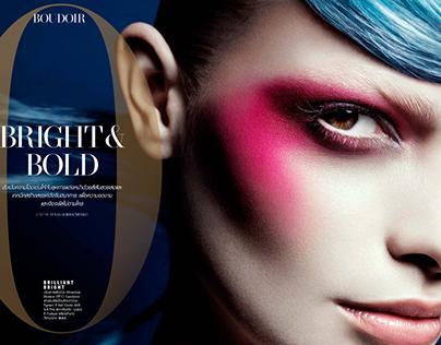 Paulina Panas / L'Officiel / Bright and Bold
