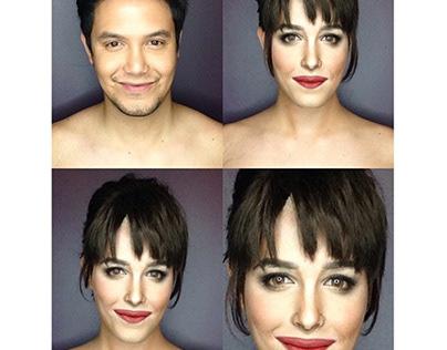 Makeup Artist Transformation Into Celebrity