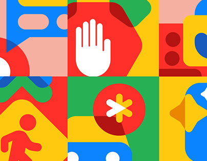 Google Drop Icon System