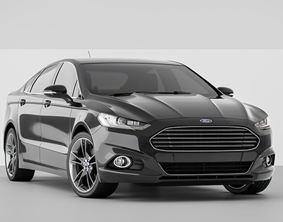 Ford Fusion/Mondeo Renders Studio