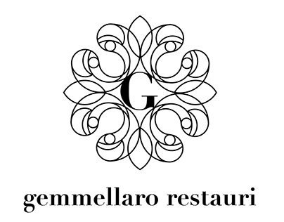 gemmellaro restauri / studio for logo