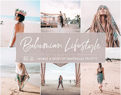 Bohemian Lifestyle - Mobile & Desktop Lightroom Presets