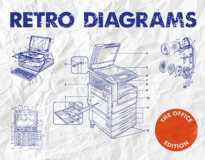 Retro Diagrams - The Office Edition