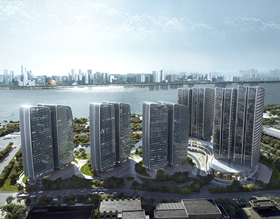 Focus Hangzhou, designed by Aedas, SWA, BPI and CAADI