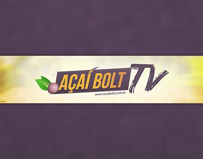Identidade Visual e Vinheta - Canal Açaí Bolt TV