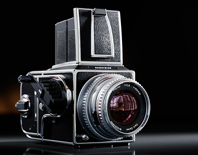Free Hasselblad 503 3d model