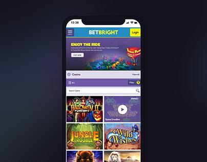 BetBright.com Casino Concept