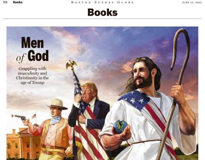 Boston Globe Book Review Illustration