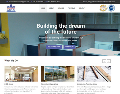 mss Building the Dreamof the future..