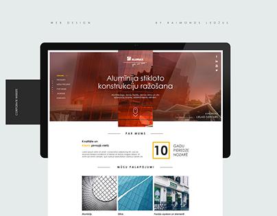 Web Design for Alumax