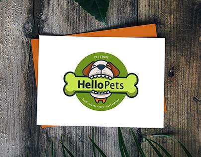 Pet Store Logo Design