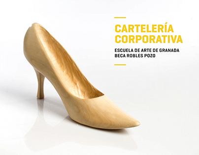 Cartelería Corporativa | Escuela de Arte de Granada
