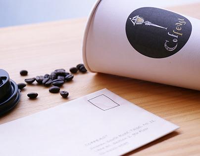 [ Coffeast ] Cafe Logo Design