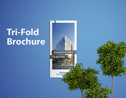 Tri-Fold Brochure for Real Estate Company