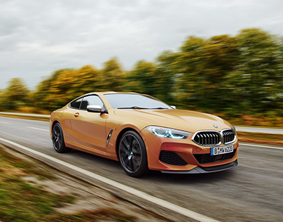 BMW 8 Series Coupe | CGI