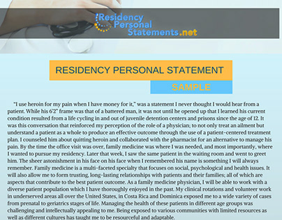 personal statement for pm&r residency