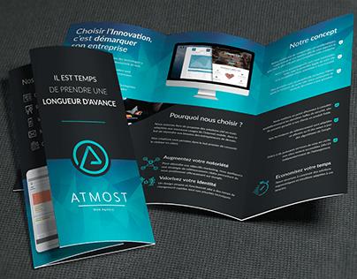 Marketing brochure Atmost Agency