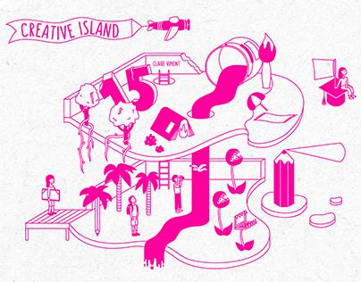 Creative island