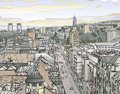 delirious Sarajevo vol. 1