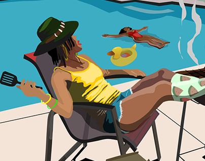 Jazmine Nikao Illustrations