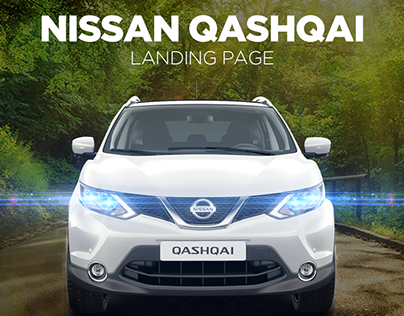 NISSAN QASHQAI LANDING PAGE