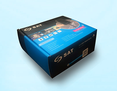 GPS TRACKER BOX FOR SAT PCS BRAND COLOMBIAN