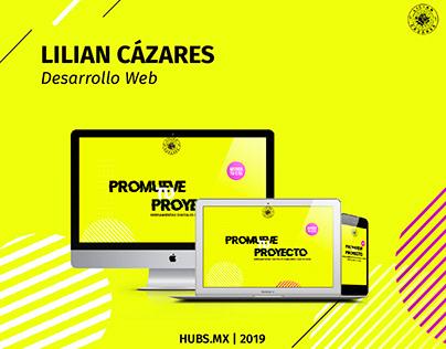 Lilian Cazares Desarrollo Web