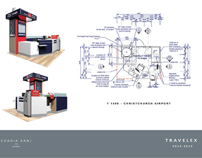 Travelex - T 1506 Modular Kiosk, Christchurch Airport