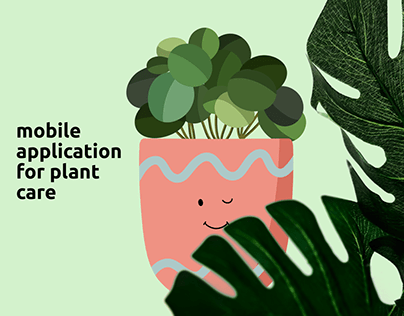 Mobile application for plant care