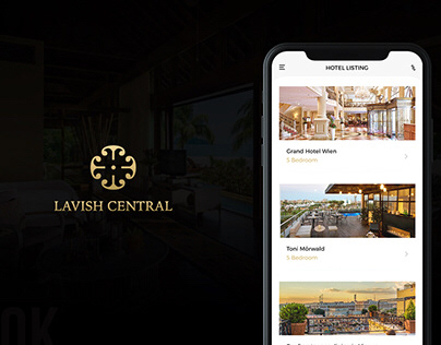 App design for Lavish Central