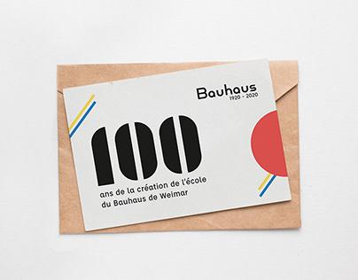 Bauhaus 1920-2020 - GRAPHIC & EDITORIAL DESIGN