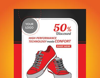 Shoe DiscountOffer Flyer/Poster Design