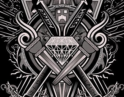 Minecraft TShirt Design