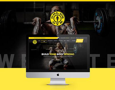 Gold's Gym WordPress Website Design